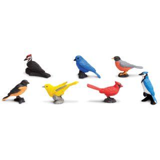 Plastic Miniatures In Toobs Backyard Birds  ™ Shopping