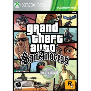 Grand Theft Auto San Andreas (Xbox 360)