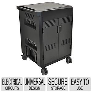 Ergotron Power Shuttle Charging Cart   Universal Design, Durable Construction, Secure Storage, Easy to Use   24 291 085