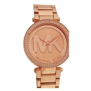 Open Box   Michael Kors Parker Dial Rose Gold tone Ladies Watch MK5865