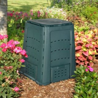 Exaco Thermoquick 160 Gallon Wibo Recycled Plastic Compost Bin