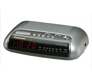 Panasonic RC 6288 AM/FM Dual Alarm Clock Radio —