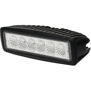 """Access Bed Covers Acc90083 18 W 90 Degree Flood Rectangle 6.3"""" x 1.9"""" 1200 Lumens 1.4 Amp Draw Ip 67 Off Road Led Light"""