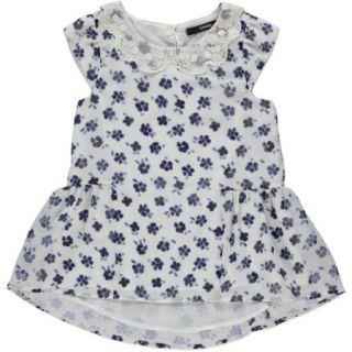 George UK Girls Sleeveless Printed Peplum Blouse