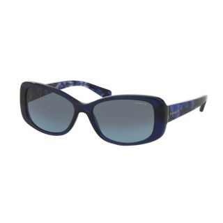 Coach HC8168F 534917 Navy/Blue Black Mosaic Womens Plastic Rectangle