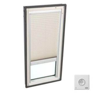 VELUX Classic Sand Solar Powered Light Filtering Skylight Blinds for FS C06 Models FSLD C06 1259