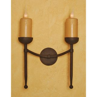Cambridge Double Wall Sconce by Laura Lee Designs