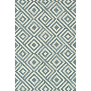 Hand hooked Indoor/ Outdoor Capri Slate Rug (93 x 13)