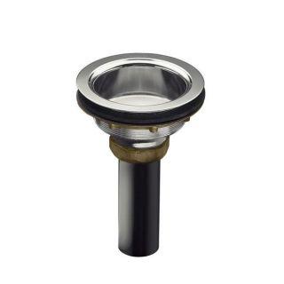 Kohler Duostrainer 4 1/2 inch Sink Strainer Body in Polished Chrome