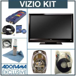Vizio VL470M 47 LCD HDTV Kit,(with 3   6 HDMI Male to HDMI Male Cable, 6RC A to RCA Component Video Super Cable, 6 Digital Audio Optical 6 HDMI to Mini HDMI Cable, Monster Screen Clean, Monster AV PowerCenter AV 800 with Surge Protection8  Outle VIZVL