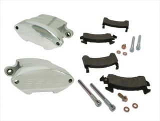 Stainless Steel Brakes   Stainless Steel Brakes Quick Change SportTwin 2 Piston Calipers, Front A181P