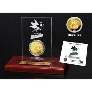 San Jose Sharks Etched Acrylic Desktop   17838221