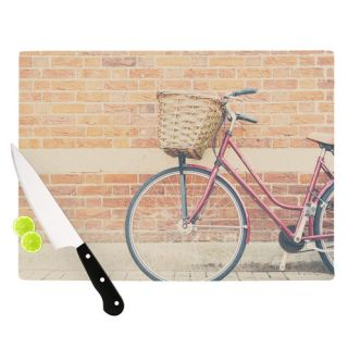 Bicycle by Laura Evans Cutting Board by KESS InHouse