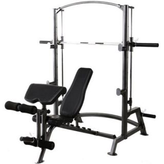Marcy 1050 Smith Cage with Separate Weight Bench
