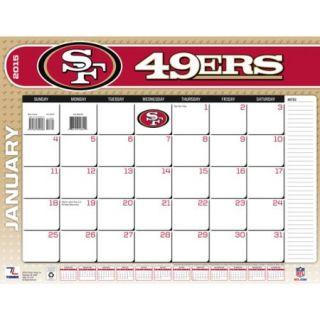 "San Francisco 49ers 2015 22"" x 17"" Desk Calendar"