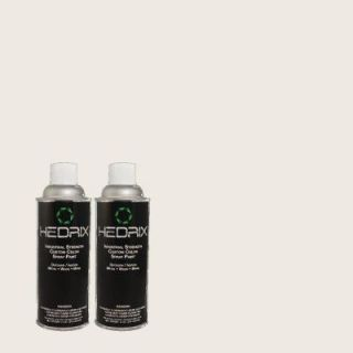 Hedrix 11 oz. Match of 90YR83/018 Gentle Touch Low Lustre Custom Spray Paint (2 Pack) 90YR83/018