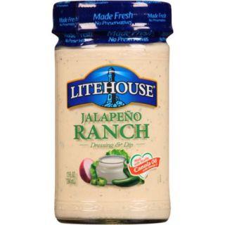 Litehouse Jalapeno Ranch Dressing & Dip 13 Fl Oz Jar