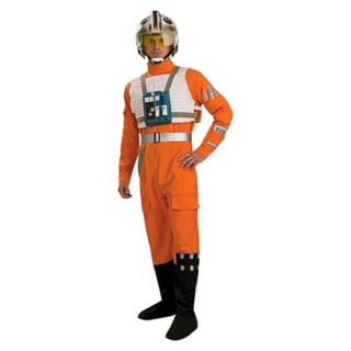 Mens Star Wars Clone Wars X Wing Fighter Pilot Adult Costume