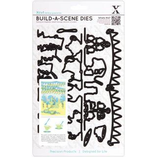Xcut Build A Scene Dies 9 Pieces Garden Party   15362273