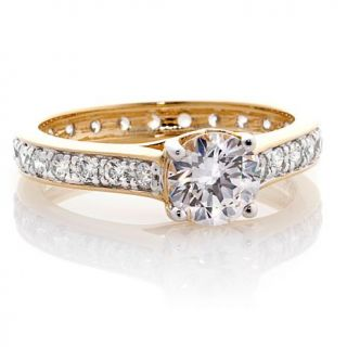 1ctw Absolute™ Round Solitaire Eternity Style Band Ring   6806667