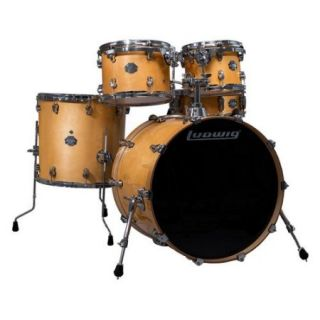 Ludwig Element Birch Pop 5pc Shell Pack Rooftop Natural