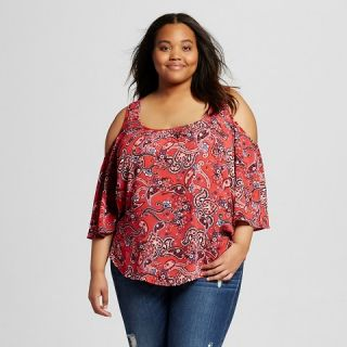 Womens Plus Size Cold Should Top   Mossimo Supply Co.(Juniors