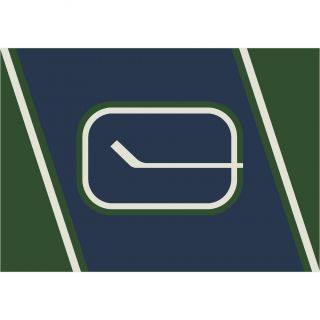 My Team by Milliken NHL Vintage Vancouver 533322 2311 2xx Novelty Rug