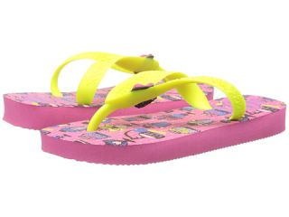 Havaianas Kids Fantasy (Toddler/Little Kid/Big Kid) Shocking Pink