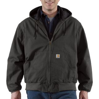 Carhartt® Ripstop Active Jacket — Black, 2XL, Model# 100108-001