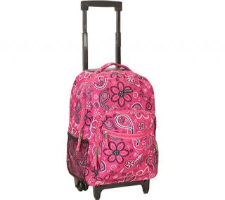 Rockland 17 Rolling Backpack R01   Bandana