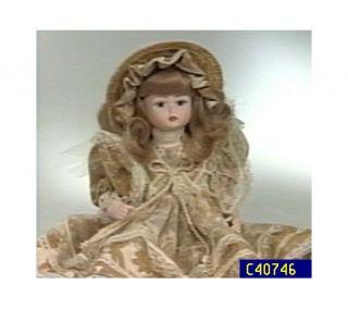 Denise 12 Porcelain Doll by Le Bambole Di Jago —