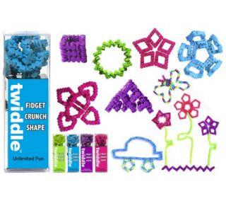 Twiddle Set of 4 Fun Fidget Toys & Shape Makers —