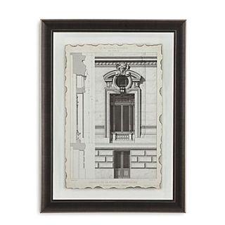 Bassett Mirror Motifs Historiques II Framed Graphic Art
