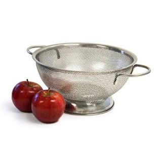Culina 3 quart Precision Perforation Stainless Steel Colander with