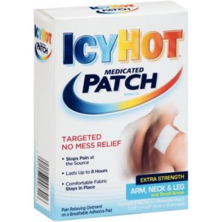 Icy Hot Extra Strength Medicated Patches, 5 count