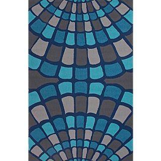 Jaipur Hand Hooked Area Rug Polypropylene, 5 x 7.6
