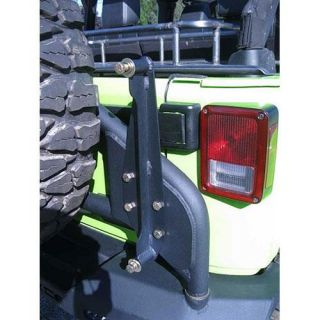 ACE Engineering   Hi Lift Tire Carrier Mount   Fits 2007 to 2016 JK Wrangler, Rubicon and Unlimited