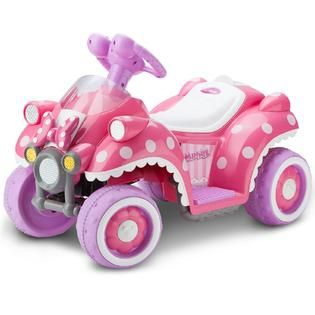 Minnie Mouse Quad by KidTrax   Minnie Mouse   Toys & Games   Ride On