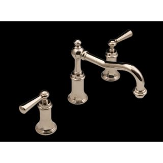 Water Decor 09901 085 026 Lenox Polished Chrome  Two Handle Widespread Bathroom Faucets
