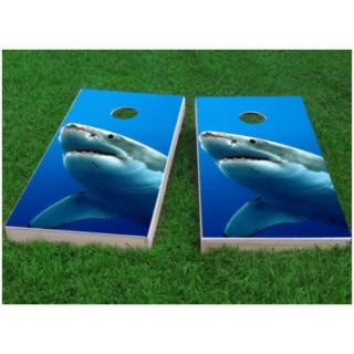 Custom Cornhole Boards Shark Cornhole Game (Set of 2)