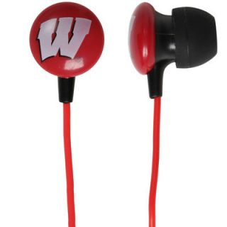 Wisconsin Badgers Lo End Ear Buds