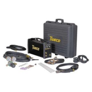 TWECO W1003801 TIG Welder, DC, 201TS Inverter, 115/230VAC