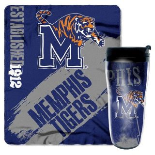 NCAA Mug N Snug Memphis Tigers Thow   Multi Colored (50x60)