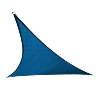 Coolaroo 23 ft. x 23 ft. Cobalt Blue Triangle Ultra Shade Sail 474232