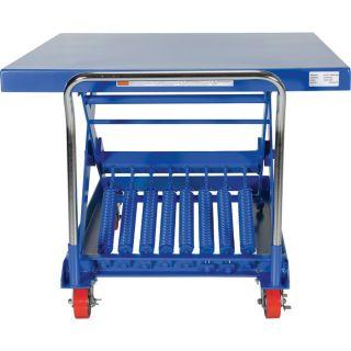 Vestil Auto-Hite Scissor Cart  Auto Adjust Lift Tables