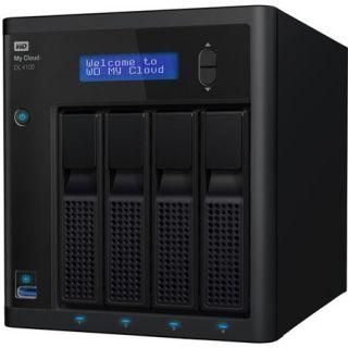 WDBNEZ0320KBK NESN WD WD My Cloud Business DL4100 4 Bay NAS, 32TB (4x8TB)