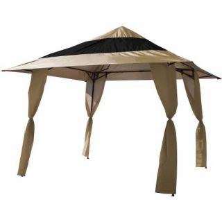 E Z Up Veranda 12'x12' Slant Leg Instant Canopy ( 144 sq. ft. coverage)