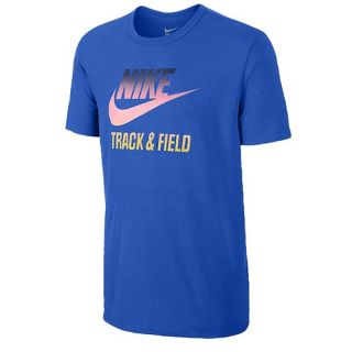 Nike RU T&F Gradient T Shirt   Mens   Casual   Clothing   Black/Multi Color
