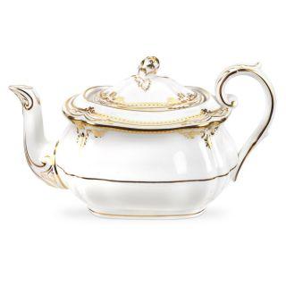 Spode 1517952 Stafford White Teapot