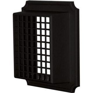 Builders Edge Exhaust Vent Small Animal Guard #002 Black 140157079002